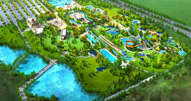 Happy Island Water Park——South Africa