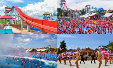 "Baise Xinghe water park won the ""most popular water park"