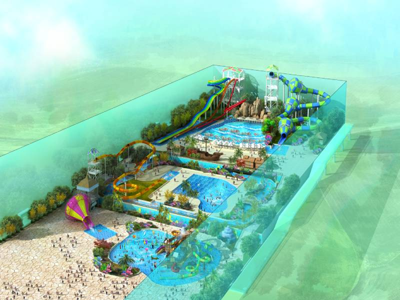 Inner Mongolia Birch Forest Water Park——China