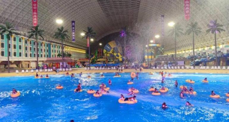 Super Large Indoor Constant Temperature Water Park–Xinjiang Di Anchor – Hot Island Paradise